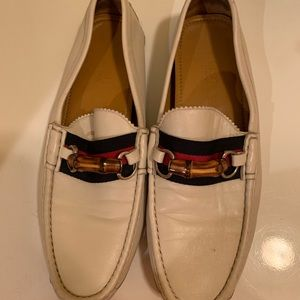 White Men Gucci Leather loafers